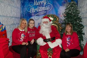 Silent Santa returns to Foyleside. (Photo - Deirdre Heaney, nwpresspics)