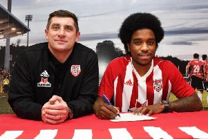 Derry City boss, Declan Devine is delighted to bring forward, Walter Figueira to the club.