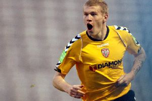 Former Derry City winger, James McClean is a candidate for the club's Team of the Decade. Who would you select?