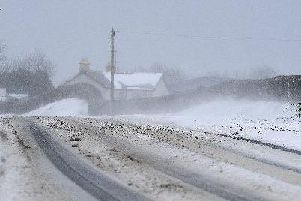 Snow in Northern Ireland