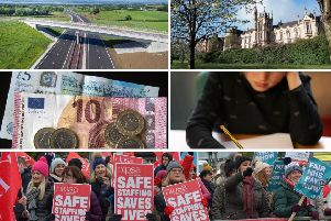 Key priroties lined out in the new blueprint include the A5 & A6, Medical School and Magee expansion, more social housing, welfare reform mitigations, education and pay parity for nurses.