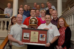 Former Derry fire commander Barry McDowell retires after 30 years with the fire service