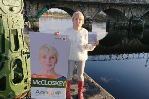 Anne McCloskey in Carrick-on-Shannon.