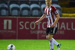 Derry City midfielder, Conor McCormack determined to win silverware at the club.