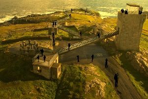 One of the concepts for the Malin Head Visitor Plan.