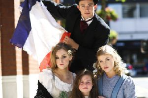 Talented kids take to the stage for Les Mis