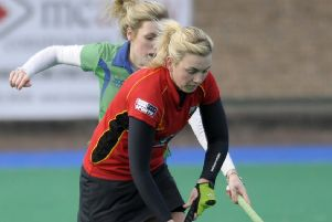 Banbridge Captain Gail McConnell. INBL1610-227EB