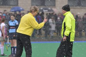 Hockey clubs across Ulster are experiencing difficulties in finding umpires, leading to points deductions and even one potential relegation. Photograph: Rowland White / PressEye