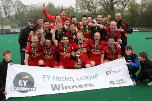 Banbridge have already sealed an EY Hockey League and Irish Senior Cup double this season. 'Photo by Freddie Parkinson / Press Eye