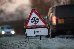 WEATHER WARNING: Met Office issue warning for ice