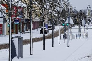 Banbridge is like a 'ghost town' as snow forces businesses to close