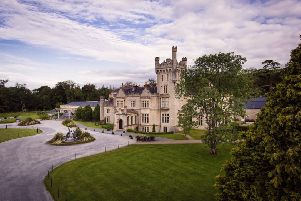 The five-star Solis Lough Eske Castle Hotel and Spa.
