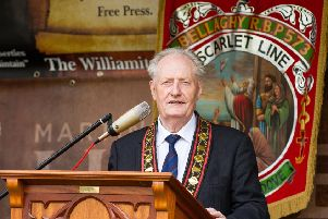 Royal Black Institution former Sovereign Grand Master, Millar Farr.