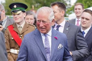 Prince Charles and Camila travel to Fermanagh during their latest NI visit