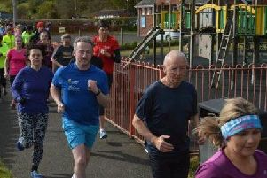Larne parkrun members in 2016. INLT-22-712-con