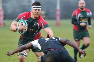 Luton RFC's Ryan Staff - pic: Ian Nancollas