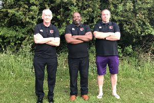 Team shot: Mick Coogan, Rich Anderson and Martin Morris