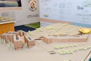 A 3D model of the plans for Newlands Park
