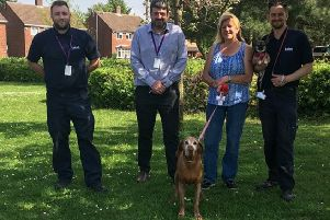 Luton Council dog warden team