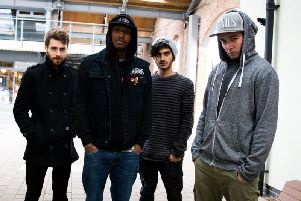 Hacktivist are playing at a fundraising show