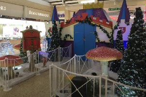 The Mall's Christmas grotto