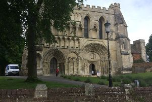 Priory Church in Dunstable