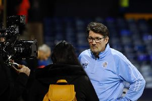 Hatters interim boss Mick Harford
