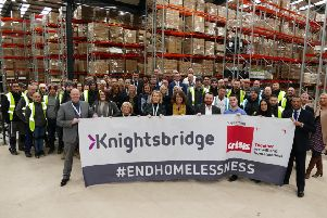 ML Accessories donated �13,000 to Crisis UK