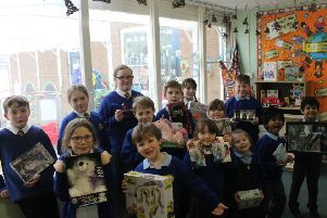 Pupils from Lark Rise Primary Academy had a cake competition to raise money for Cancer Research UK