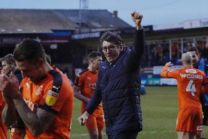Town boss Mick Harford
