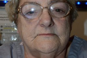 Hear the moment a Dunstable pensioner called police after killing her lover