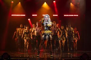 Alexandra Burke stars in The Bodyguard at Milton Keynes Theatre