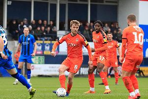 Luke Berry keeps playing moving against Gillingham