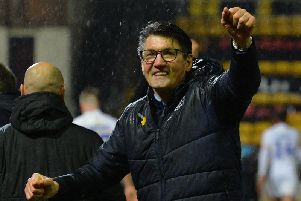 Hatters boss Mick Harford