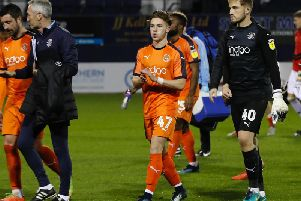 Connor Tomlinson has been released by Luton