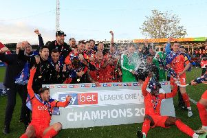 Luton Town will be in the Championship next season