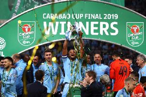 Manchester City won the Carabao Cup last season