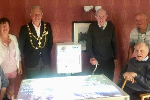 Launch of the 'Magic Table' at Dunstable care home
