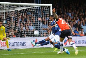 Jacob Butterfield went close from this clever corner routine against Huddersfield recently