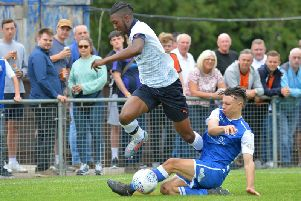 Town youngster Josh Neufville