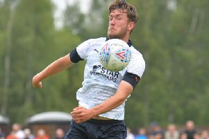 Town defender Corey Panter