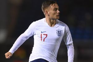 Luke Bolton on England duty previously