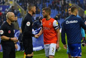 Martin Cranie was named Luton captain on Saturday