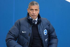 Albion manager Chris Hughton. Picture by PW Sporting Pics
