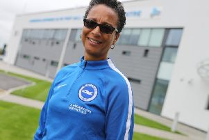 Hope Powell. Picture by BHAFC/Paul Hazlewood