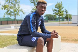 Yves Bissouma. Picture by BHAFC/Kieran Cleeves