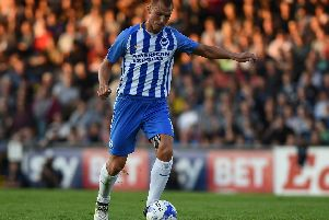 Steve Sidwell. Picture by Phil Westlake (PW Sporting Photography)