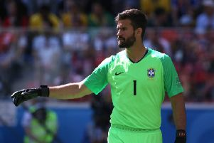 Liverpool sign Alisson Becker