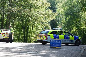 Road accident at Upper Dukes Drive SUS-180608-162840001