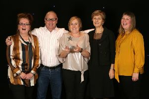 Sussex Community NHS Foundation Trust's award ceremony. The Time to Talk team won the Making a Difference award